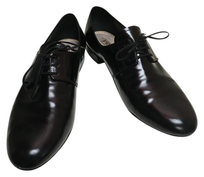 Item - Black Women's Leather Oxfords Lace Up Formal Shoes Size EU 40 (Approx. US 10) Regular (M, B)