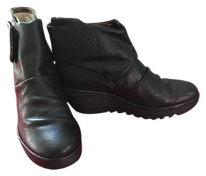 FLY London Black Boots