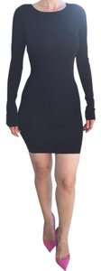 Ksubi short dress Black Sweater Peek A Boo on Tradesy
