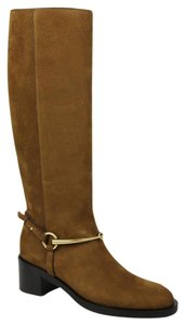 Gucci Women's Suede Brown Boots