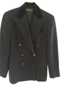 Ralph Lauren Collection Jacket Navy Blue Cashmere Blazer