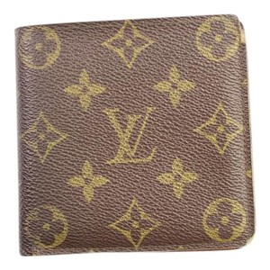 Louis Vuitton Monogram Men's Wallet 50LVA104