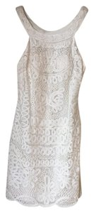 Sue Wong Detailed Lace Cut-out Dress