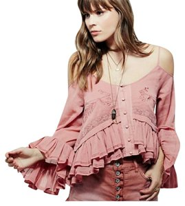 Free People Cold Open Top Pink