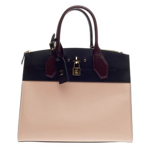 Louis Vuitton Steamer Leather Tote