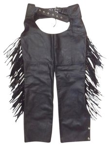 Hot leathers Chaps Motorcycle Fringe Small Jacket