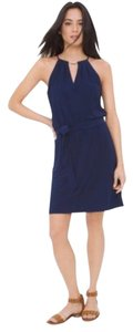 White House | Black Market short dress Navy on Tradesy