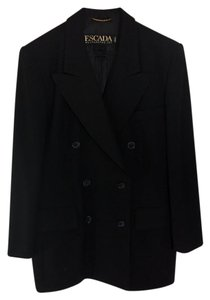 Escada Tailored Modern Chic Power Black Blazer