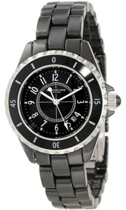 Stührling Stuhrling Original Black Ceramic Quartz Watch 530.11OB1