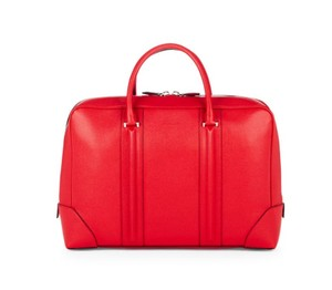 Givenchy Leather Tote Satchel in Red