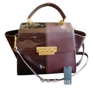 Zac Posen Eartha Vineyard Satchel in Purple