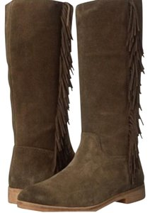 Lucky Brand Olive/moss Boots