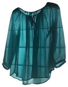 Bellatrix Top Teal blue/ aqua