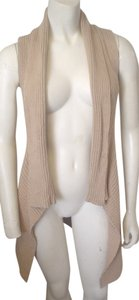 JJ Basics Cotton Cashmere Gray Black Yellow Pm Cardigan Sweater