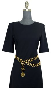 Chanel Chanel Gold Chain Link Double Strand CC Belt