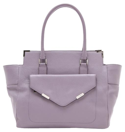 Rebecca Minkoff Rm Sienna Pastel Lavender Spring Leather Tote in Purple