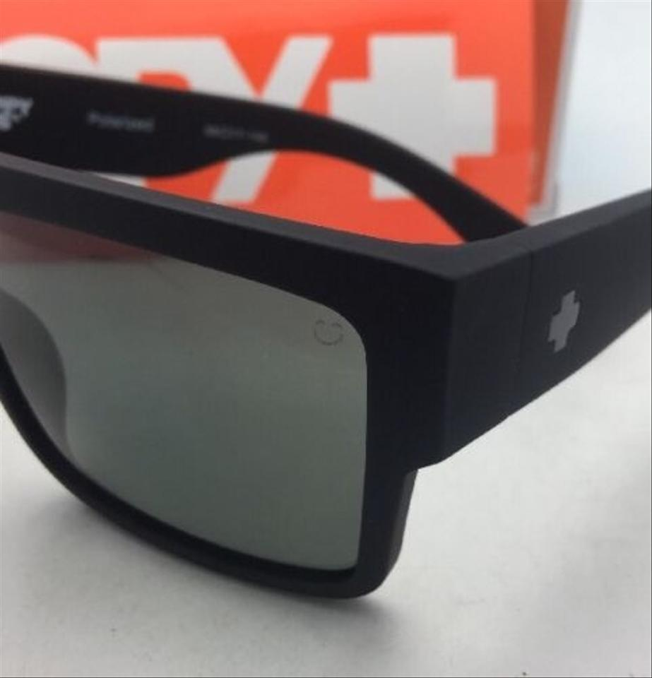 8f3f3dd45a Spy Polarized SPY OPTIC Sunglasses CYRUS Matte Black Frame w  Grey Green  Image 7. 12345678