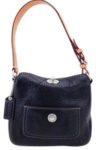 Coach Pebble Leather Chelsea 9377 Small Shoulder Bag
