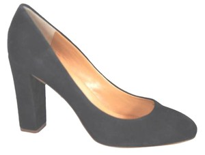 J.Crew Suede Black Pumps