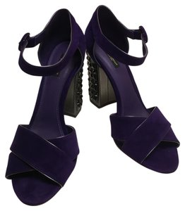 Dolce&Gabbana Purple Sandals