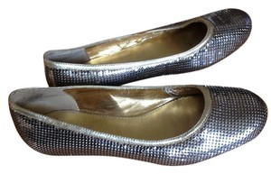 Oh Deer! Sequin gold and silver Flats