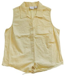 Sonoma Button Down Shirt Yellow