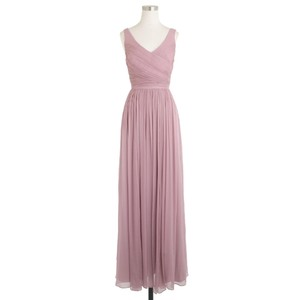 J.Crew Dusty Thistle J.Crew Heidi Dress Dusty Thistle Silk Chiffon Bridesmaid Dress