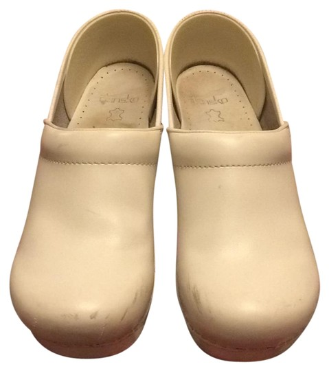 Dansko White Nursing Shoes Wide