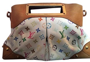 Louis Vuitton Judy Mm Neverfull Speedy Satchel in multicolor