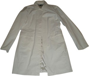 JACOB Spring Coat White Jacket