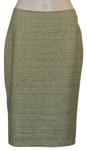 Kriziapoi Skirt green / white / gold