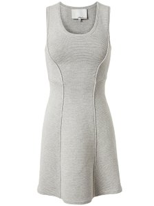 3.1 Phillip Lim Work A-line Knit Sleeveless Winter Dress