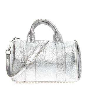 Alexander Wang Satchel in Silver