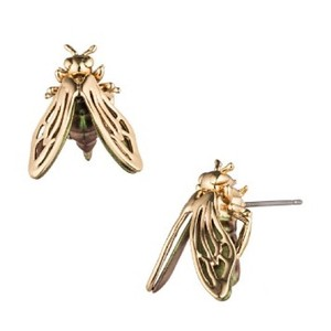 Alexis Bittar Iridescent Desert Jasmine Bee Stud Earrings