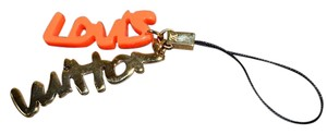 Louis Vuitton NEW Authentic Louis Vuitton Rare Limited Orange Cell Phone Charn Strap