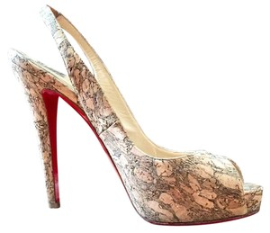 Christian Louboutin Natural Platforms