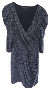 Cynthia Steffe Draped Zipper Silk/cotton Dress