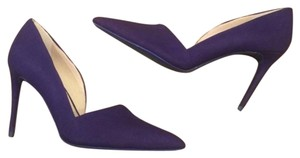 Kenneth Cole D'orsay Nubuck Blue Pumps