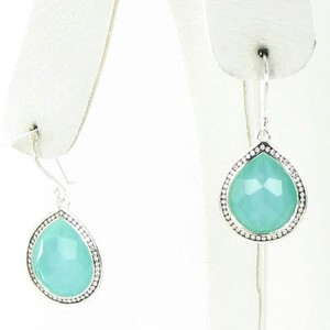 Ippolita Ippolita Earrings Stella Teardrop 0.38ct Diamond Turquoise Doublet 925