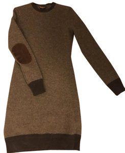 Ralph Lauren Prepp Fall Sweater Dress Winter Top Brown