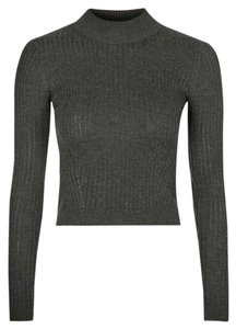 Topshop Wool Crop Sweater