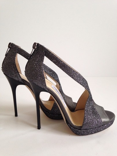 Jimmy Choo Gray/Anthracite Sandals