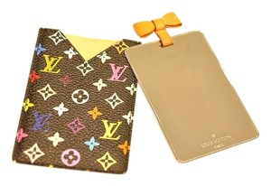 Louis Vuitton Multicolor Mirror and Case Pouch