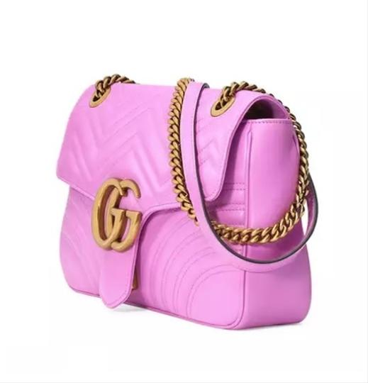 fcf37a85084e Gucci Pink Gg Marmont 2.0 Bag | Stanford Center for Opportunity ...