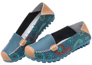 Bangood Blue, Multi-Color Flats