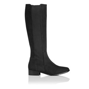 L.K. Bennett Knee High Black Boots