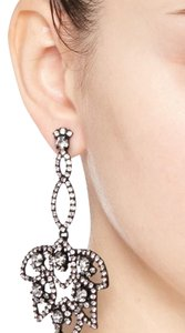 J.Crew Lotus Pave Earrings