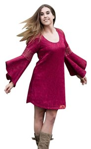Vava by Joy Han short dress Red wine on Tradesy