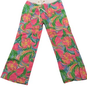 Lilly Pulitzer Wide Leg Pants Multi
