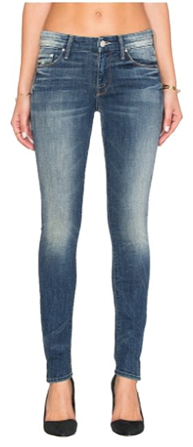 Mother Sexy Skinny Jeans-Medium Wash